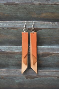 Handmade Leather Earrings from Thailand #48 · Purchase Effect · Online Store Powered by Storenvy