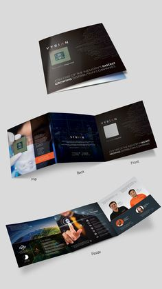 Design #12 by Arttero | Design a fancy, new die-cut recruiting brochure for tech company