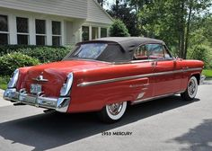 1953 Mercury Monterey Convertible Base For Auction in NC 1954 Chevy Bel Air, Convertible, Edsel Ford, Lincoln Motor Company, Veteran Car, Mercury Cars, American Classic Cars, Ford Lincoln Mercury, Car Advertising
