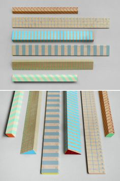 Striped Rulers / Present & Correct