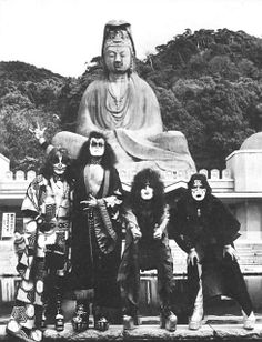 HUMAN AMITY -    To all our loyal fans, friends and their families devastated by the effects of the earthquake in Japan: We stand side by side with you in support and you will remain in our prayers through this time of tragedy.        (Signed) Paul Stanley, Gene Simmons, Eric Singer, and Tommy Thayer