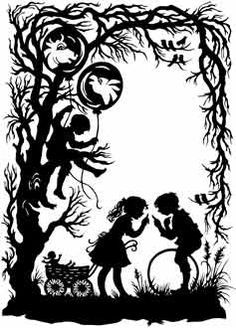 Official Site Beautiful silhouette artwork by premier silhouette artist, Cindi Harwood Rose. View classic, victorian style silhouettes, read the artist bio, and learn the history of fine silhouette art. Silhouette Artist, Silhouette Images, Vintage Silhouette, Kirigami, Paper Cutting, Paper Art, Paper Crafts, Pix Art, Paper Birds