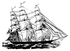 ...reminds me of this ship (up on a valance) my mom used to have in our house that was my Pop-pops :)