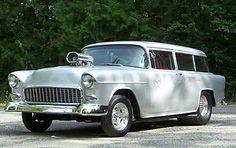 Chevrolet : Bel Air/150/210 150 1955 Chevrolet, Chevrolet Bel Air, Chevy Ssr, Ferrari Car, Drag Cars, Drag Racing, Fast Cars, Old Cars, Cars Motorcycles