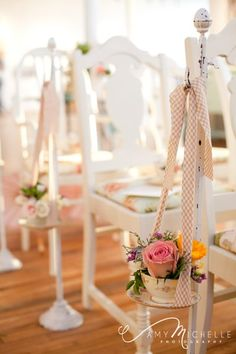 Aisle Markers {Pink Posey Design}