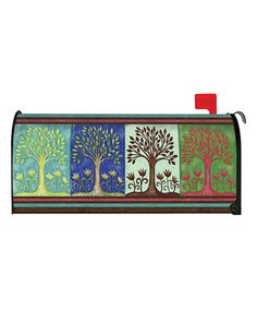 Love this Seasons Mailbox Cover on #zulily! #zulilyfinds