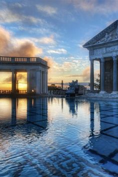 1000 images about hearst castle beautiful on pinterest - Hearst castle neptune pool swim auction ...