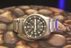 Seiko 5 Military SNZG13K1 on stock bracelet