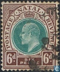 1902 Natal - King Edward VII King Edward Vii, Kwazulu Natal, Postage Stamps, South Africa, Graphic Design, Cool Stuff, Seals, Cool Things, Visual Communication