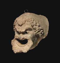 A ROMAN TERRACOTTA WATERSPOUT ca.1st century .B.C. through early 1st century A.D.. Formerly at Christie's