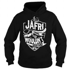 Cool It is a JAFRI Thing - JAFRI Last Name, Surname T-Shirt Shirts & Tees