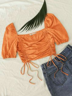 Trendy Outfits, Summer Outfits, Cute Outfits, Fashion Outfits, Diy Summer Clothes, Diy Clothes, Stylish Dress Designs, Looks Street Style, Teenager Outfits
