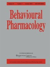 Some science I did on Salvia in Behavioural Pharmacology, Volume 23, Issue 7, October 2012 pages 710-715