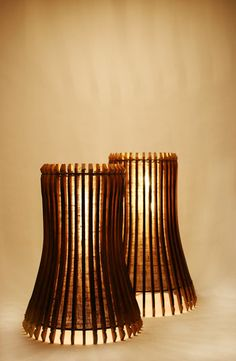 Wine Barrel Staves Made Lamps: Saving The Earth Made Easy   Green ...