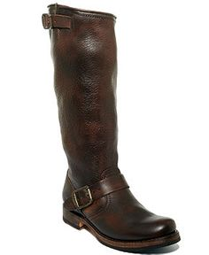 Frye Women's Shoes, Veronica Slouch Boots - Very unique look!!