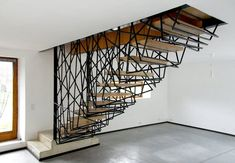 iron compact staircase