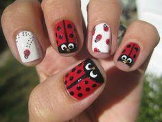 Nail Narcotics!: Ladybird Beetle Nails....AKA Lady bug nails (plus give away Q&A)