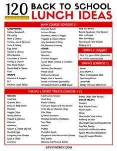 120 Easy Kid Friendly Lunch Ideas For School 120 Easy Kid Friendly Lunch Ideas For School These back to school lunch ideas for kids are so EASY Over 120 combinations of kids lunches Free Printable Meal Prep for moms 038 kids backtoschool kids lunch m High School Lunches, Back To School Lunch Ideas, Healthy School Lunches, Kid Lunches, Cold Lunch Ideas For Kids, School Lunch Menu, Packing School Lunches, School School, Easy Kids Lunches