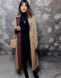 Jeanne Damas wearing Burberry at the launch of the Here We Are exhibition in Paris Jeanne Damas, Star Fashion, Paris Fashion, Love Fashion, Winter Fashion, Winter Outfits, Cool Outfits, Parisienne Style, Paris Mode