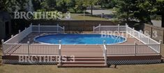 Semi Inground — Brothers 3 Pools Semi Above Ground Pool, In Ground Pools, Swimming Pool Pond, Pool Spa, Pool Deck Plans, Rectangle Pool, Backyard Pool Designs, Outdoor Projects, Pool Ideas