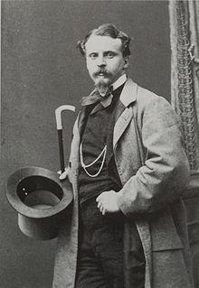 Thomas Johann Heinrich Mann (1840-1891) , de vader van Thomas Mann; in Der Buddenbrooks is hij Thomas Buddenbrook
