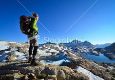 Adventure Hiking Royalty Free Stock Photo