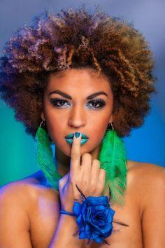 afro with highlights Natural Hair Tips, Natural Hair Inspiration, Natural Hair Journey, Natural Beauty, Ethnic Hairstyles, Afro Hairstyles, Natural Hairstyles, Black Hairstyles, Love Your Hair