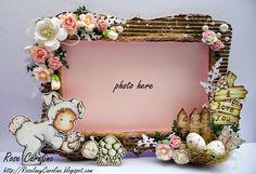 me and my craft corner : Easter Bunny Frame for Magnolia Forever Challenge Blog