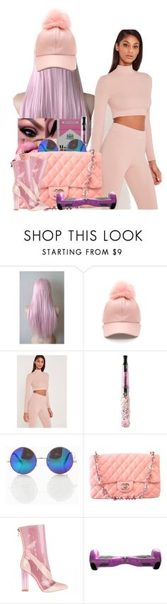 """""""✨✨✨"""" by melaninmonroee ❤ liked on Polyvore featuring Missguided and Chanel"""