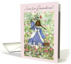 Flower Fields - Grandparents Day card