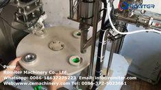 Semi Automatic Plastic Nespresso Coffee Capsules Filling Sealing Machine... Packing Machine, French Polynesia, Nespresso, Plastic, Coffee, Kaffee, Cup Of Coffee