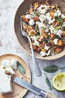 Ottolenghi Salad, Ottolenghi Recipes, Easy Cooking, Healthy Cooking, Cooking Recipes, Healthy Recipes, Otto Lenghi, Yummy Veggie, Savory Salads