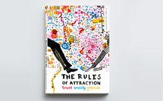 The Rules Of Attraction / book cover design by Adelina Sandecka, via Behance