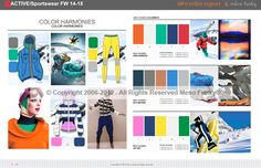 #Color #Forecast #Sportswear 2014-2015