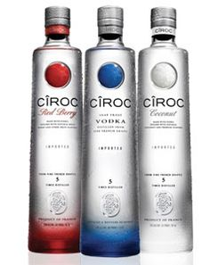 Ciroc Cause She S Used To Getting Her Drinks Bought Drink Bottles Mixed