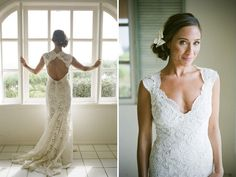 I have apparently decided that I love these kinds of lace wedding dresses.  New discovery!