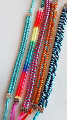 Friendship Bracelets, Beauty, Jewelry, Style, Bracelets, Knots, Beading, Swag, Jewlery