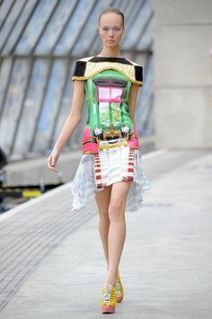 Mary Katrantzou - room on a dress