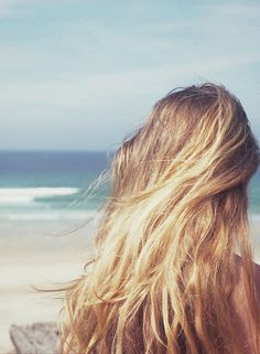 beach summer hair