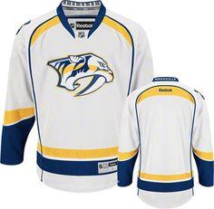Nashville Predators White Premier NHL Jersey