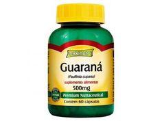 Guaraná 500 mg Cafeína 60 Cápsulas - Maxinutri