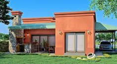 Spanish style homes – Mediterranean Home Decor Mission Style Homes, Hacienda Style Homes, Spanish Style Homes, Spanish House, Bungalows, Cabana, Small Beach Houses, Small Villa, Stucco Walls