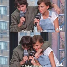 "This interview where Mike warms our hearts and Eleven rolls her eyes. | 31 Jokes Only ""Stranger Things"" Fans Will Find Funny"