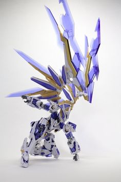 """LightBringer"" MG Custom Sinanju Stein Ver.ka (GBWC 2013 Philippines Entry) [Updated - More Images Added] Arte Gundam, Gundam Art, Robot Concept Art, Robot Art, Character Art, Character Design, Robot Animal, Gundam Toys, Mecha Suit"