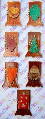 Disney DSF Door to Nightmare Before Christmas 7 Pin Jack Santa Clause Zero Set | eBay