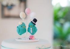 Topo de bolo de passarinho