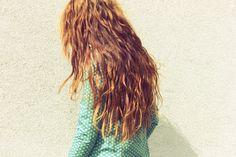 #beauty #hair #red #ginger #nadiaesra #long #messy #waves