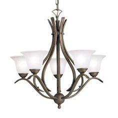 Kichler Lighting Dover 5-Light Tannery Bronze Chandelier