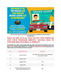20 best driving school chandigarh panchkula mohali images rh pinterest com