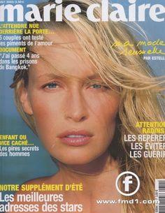 Beauty And Fashion Prison, Marie Claire France, Estelle Lefébure, Supermodels, Magazine, Beauty, Cover, Top, Top Models